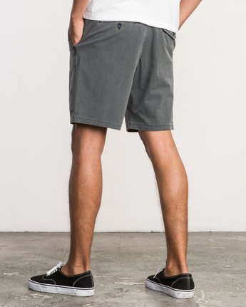 3 All Time Coastal Hybrid Short Grey M206QRCO RVCA