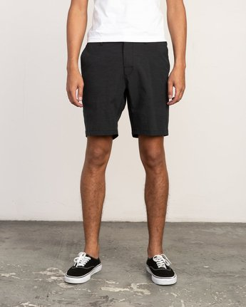 1 All Time Coastal Hybrid Short Black M206QRCO RVCA