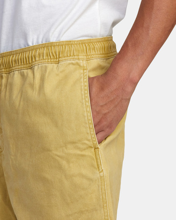 "7 ESCAPE ELASTIC SHORT 17"" Brown M2073REE RVCA"