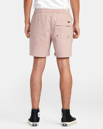 "2 ESCAPE 17"" ELASTIC SHORT Grey M2073REE RVCA"