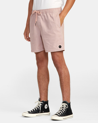 "3 ESCAPE ELASTIC SHORT 17"" Grey M2073REE RVCA"
