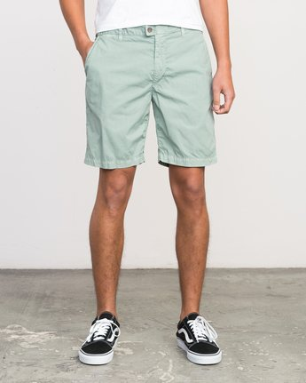 1 Nomad All Time Short Green M207PRNO RVCA