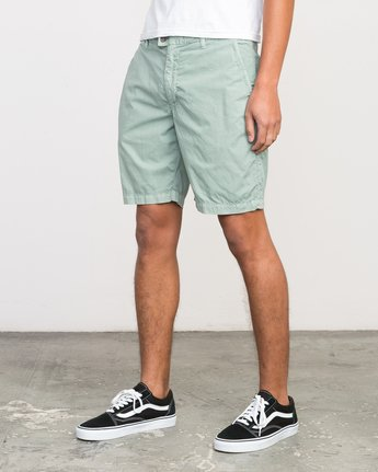 2 Nomad All Time Short Green M207PRNO RVCA
