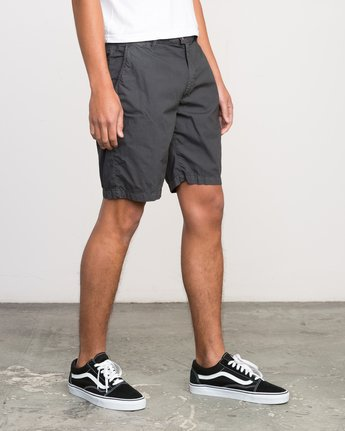 6 Nomad All Time Short Grey M207PRNO RVCA