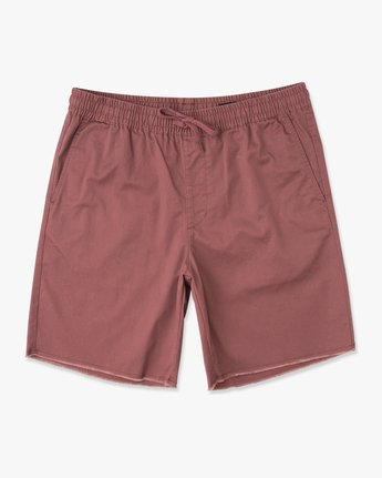 "0 Weekend 19"" Elastic Short Grey M207TRWE RVCA"