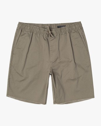 "0 Weekend 19"" Elastic Short White M207TRWE RVCA"