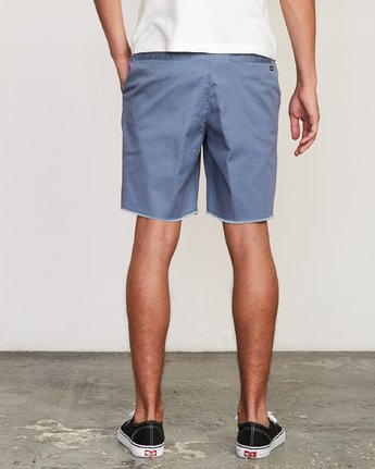 "4 Weekend Elastic 19"" Short Blue M207TRWE RVCA"