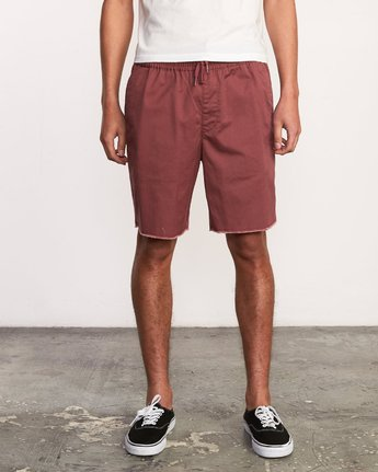 "1 Weekend 19"" Elastic Short Purple M207TRWE RVCA"