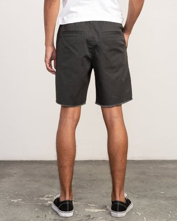 "4 Weekend 19"" Elastic Short Black M207TRWE RVCA"