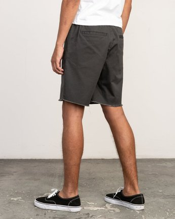 "3 Weekend 19"" Elastic Short Black M207TRWE RVCA"