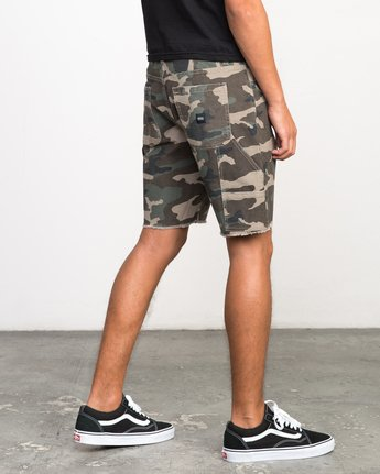 5 Work It Camo Short Camo M208NRWO RVCA