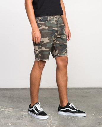 6 Work It Camo Short Camo M208NRWO RVCA