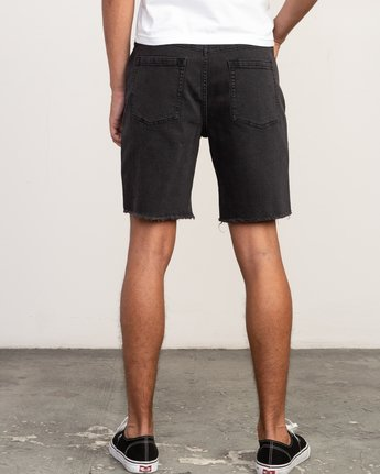 4 Daggers Denim Short Black M208TRDV RVCA