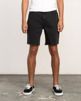 1 Daggers Denim Short Black M208TRDV RVCA