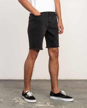 6 Daggers Denim Short Black M208TRDV RVCA