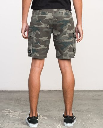 4 Wannabe Cargo Short Brown M209PRWA RVCA