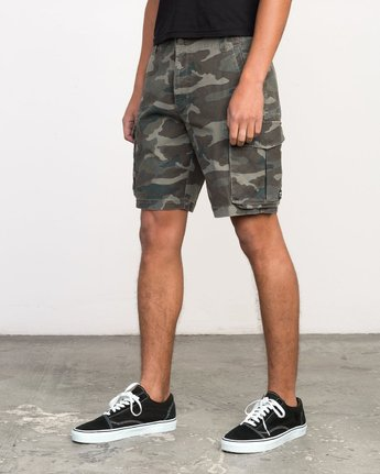 2 Wannabe Cargo Short Brown M209PRWA RVCA