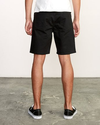 4 Daggers Twill Short Black M209TRDT RVCA