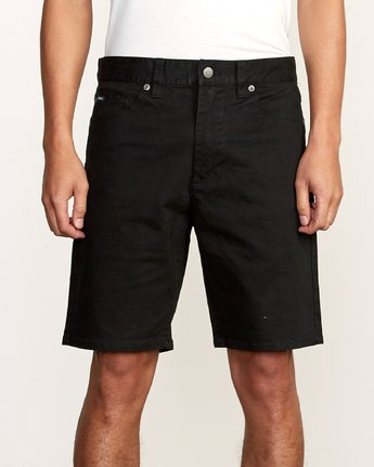 7 Daggers Twill Short Black M209TRDT RVCA