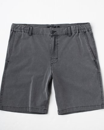1 All Time Rinsed Coastal Hybrid Short Black M211TRCR RVCA