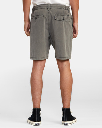 11 All Time Rinsed Coastal Hybrid Short Black M211TRCR RVCA