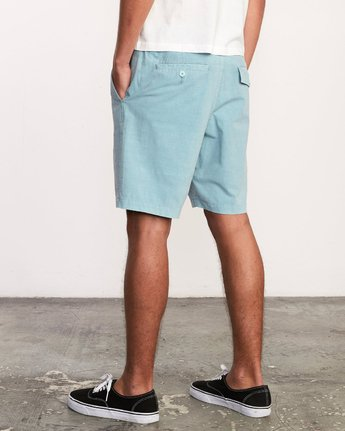 3 All Time Rinsed Coastal Hybrid Short Blue M211TRCR RVCA