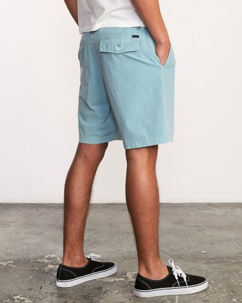 5 All Time Rinsed Coastal Hybrid Short Blue M211TRCR RVCA