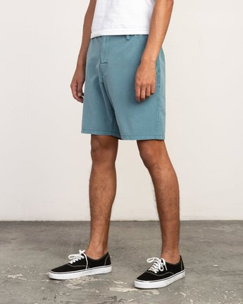 2 All Time Rinsed Coastal Hybrid Short Blue M211TRCR RVCA
