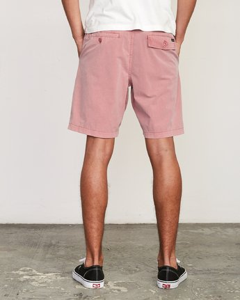 4 All Time Rinsed Coastal Hybrid Short Grey M211TRCR RVCA