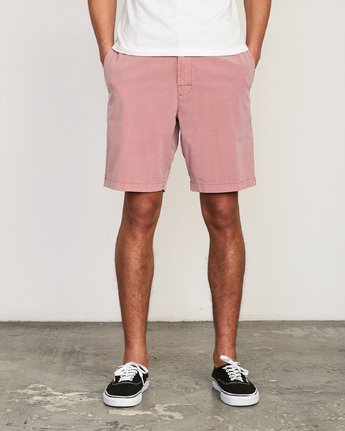 1 All Time Rinsed Coastal Hybrid Short Grey M211TRCR RVCA