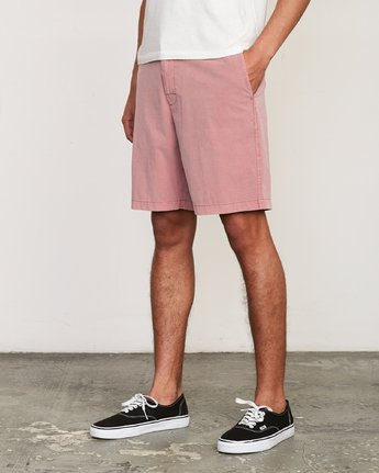 2 All Time Rinsed Coastal Hybrid Short Grey M211TRCR RVCA
