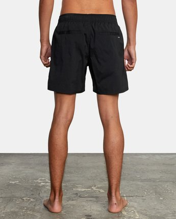 "7 FLUX WALKSHORT 16"" Black M2123RFW RVCA"