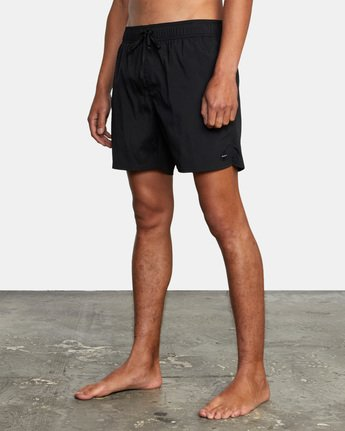 "9 FLUX WALKSHORT 16"" Black M2123RFW RVCA"