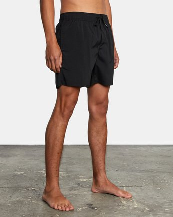 "10 FLUX WALKSHORT 16"" Black M2123RFW RVCA"