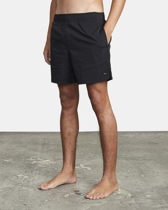 "2 FLUX WALKSHORT 16"" Black M2123RFW RVCA"