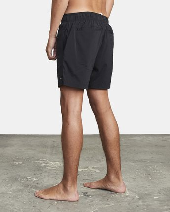 3 FLUX WALKSHORT Black M2123RFW RVCA