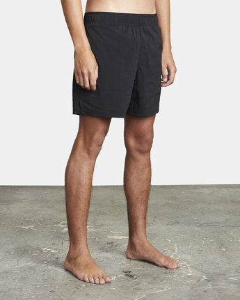 "5 FLUX WALKSHORT 16"" Black M2123RFW RVCA"