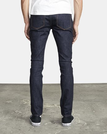 4 ROCKERS SKINNY FIT DENIM Blue M3013RRO RVCA