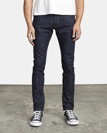 1 ROCKERS SKINNY FIT DENIM Blue M3013RRO RVCA
