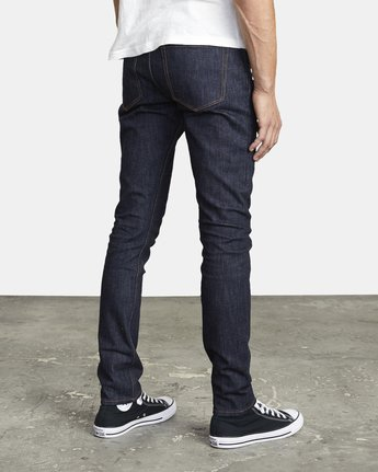 5 ROCKERS SKINNY FIT DENIM Blue M3013RRO RVCA