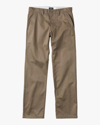 6 Americana Pant Grey M301LRAP RVCA