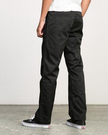 2 Americana Pant Black M301LRAP RVCA