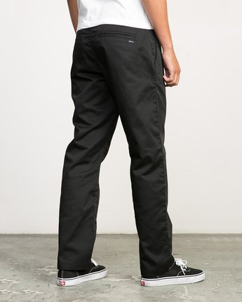 4 Americana Pant Black M301LRAP RVCA