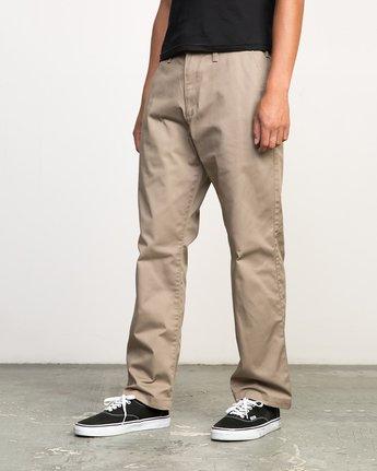 2 Americana Pant Grey M301LRAP RVCA