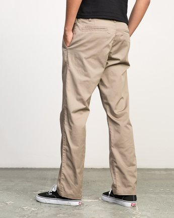 3 Americana Pant Grey M301LRAP RVCA