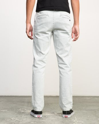 3 Daggers Rinsed Chino Pant Grey M301NRDR RVCA