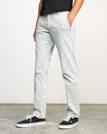 1 Daggers Rinsed Chino Pant Grey M301NRDR RVCA