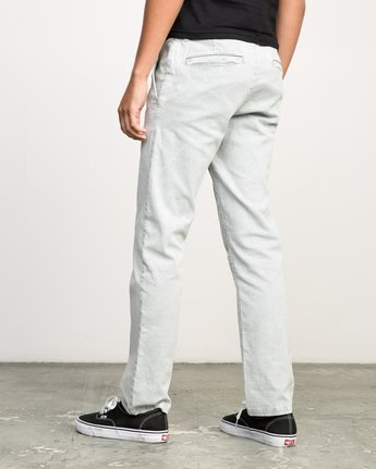 2 Daggers Rinsed Chino Pant Grey M301NRDR RVCA