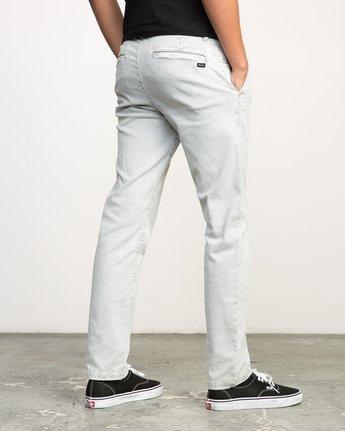 4 Daggers Rinsed Chino Pant Grey M301NRDR RVCA