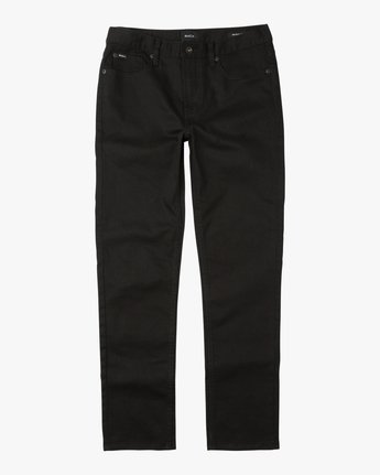 6 Hexed Denim Jeans Black M301NRHE RVCA
